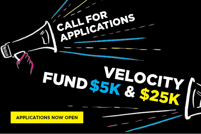 Velocity Fund Applications Open