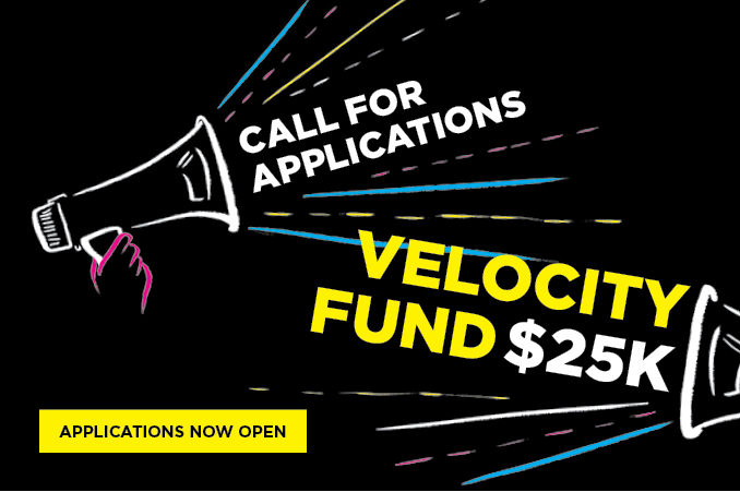 Velocity Fund 25K Applications Open